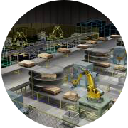 immagine dimostrativa del laboratorio Smart Factory